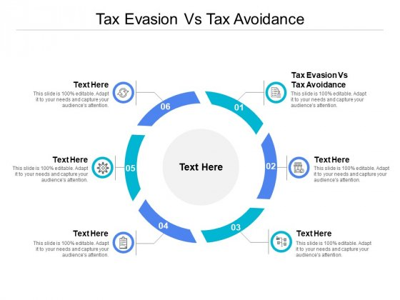 Tax Evasion Vs Tax Avoidance Ppt PowerPoint Presentation Gallery Professional Cpb