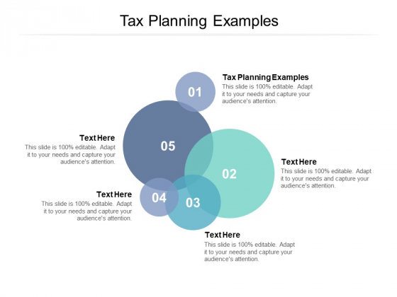 Tax Planning Examples Ppt PowerPoint Presentation Outline Example File Cpb