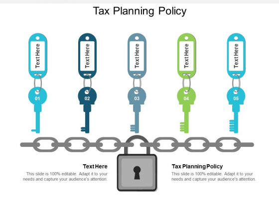 Tax Planning Policy Ppt PowerPoint Presentation Outline Guide Cpb