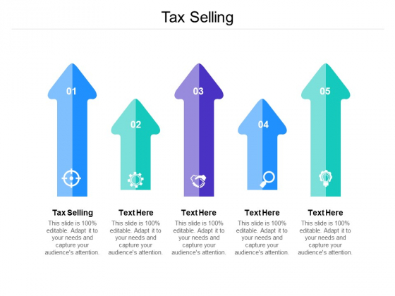 Tax Selling Ppt PowerPoint Presentation Gallery Designs Download Cpb Pdf