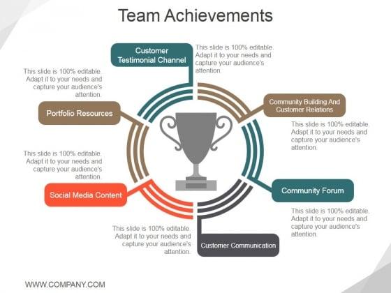 Team Achievements Ppt PowerPoint Presentation Layouts Background Designs