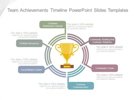 Team Achievements Timeline Powerpoint Slides Templates Powerpoint