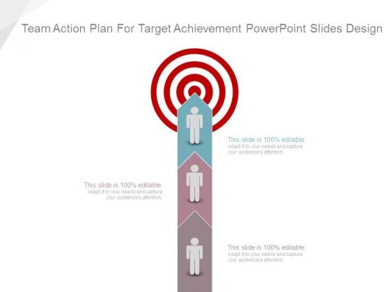 Team Action Plan For Target Achievement Powerpoint Slides Design