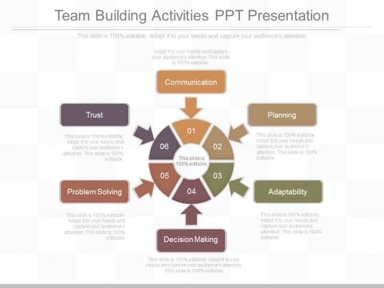 Team Building Activities Ppt Presentation