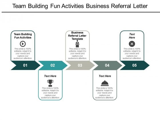 team building fun activities business referral letter template ppt powerpoint presentation icon good