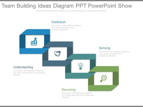 Team Building Ideas Diagram Ppt Powerpoint Show
