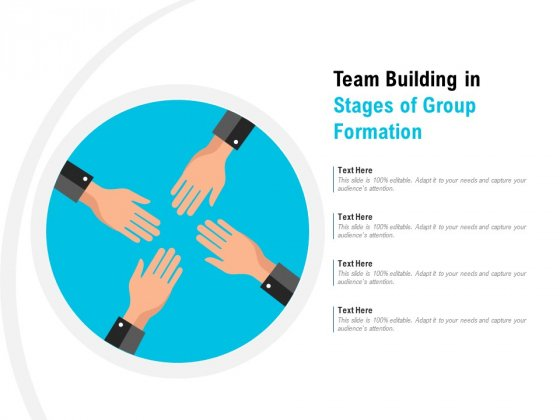 Team Building In Stages Of Group Formation Ppt PowerPoint Presentation Show Slides PDF
