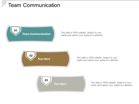 Team Communication Ppt PowerPoint Presentation Pictures Show Cpb