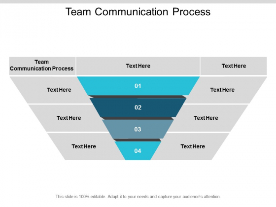 Team Communication Process Ppt PowerPoint Presentation Outline Influencers Cpb