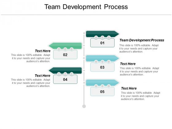 Team Development Process Ppt Powerpoint Presentation Professional Format Ideas Cpb