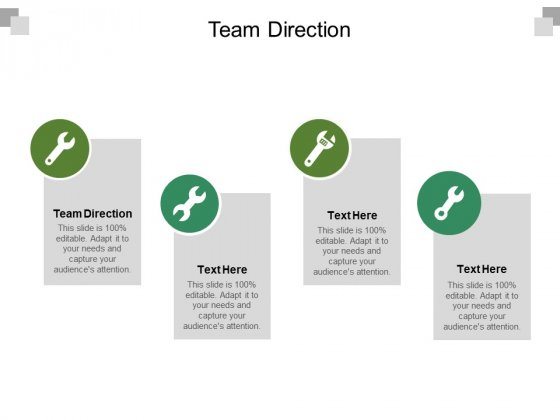 Team Direction Ppt PowerPoint Presentation Model Backgrounds Cpb Pdf