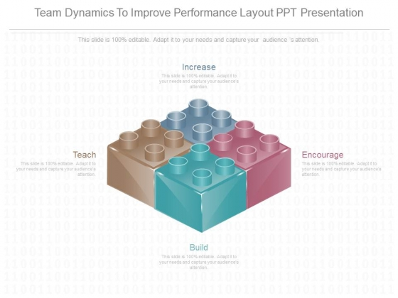 Team Dynamics To Improve Performance Layout Ppt Presentation
