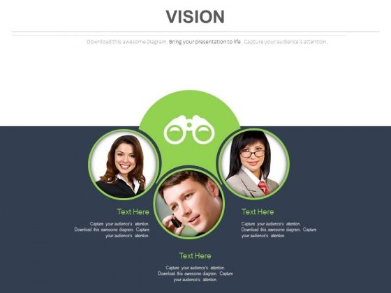 Team For Business Vision Planning Powerpoint Slides