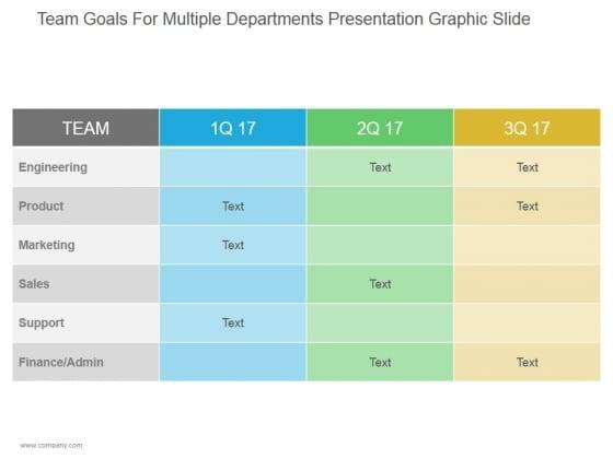Team_Goals_For_Multiple_Departments_Ppt_PowerPoint_Presentation_Infographics_Slide_1