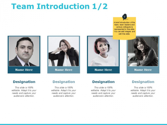 Team Introduction Communication Ppt PowerPoint Presentation Inspiration Clipart Images