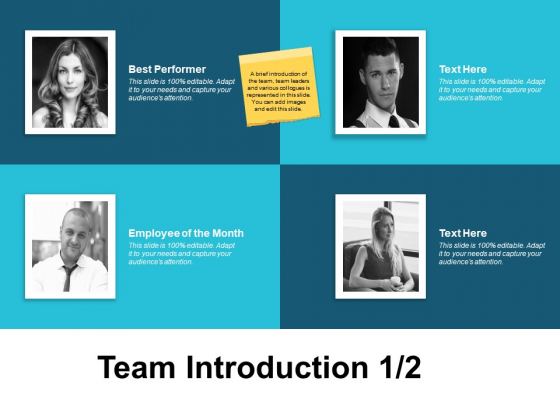 Team Introduction Planning Ppt PowerPoint Presentation Slides Samples