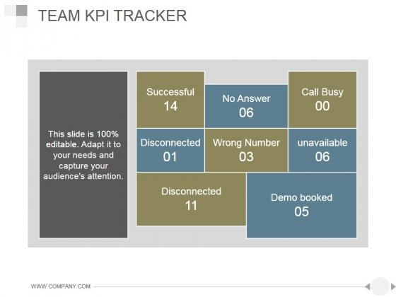 Team Kpi Tracker Ppt PowerPoint Presentation Templates