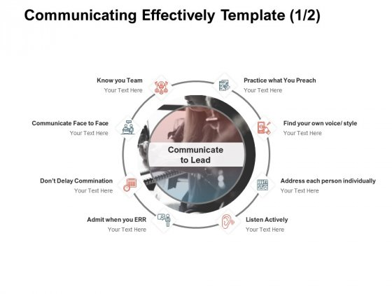 Team Manager Administration Communicating Effectively Template Communicate Portrait Pdf