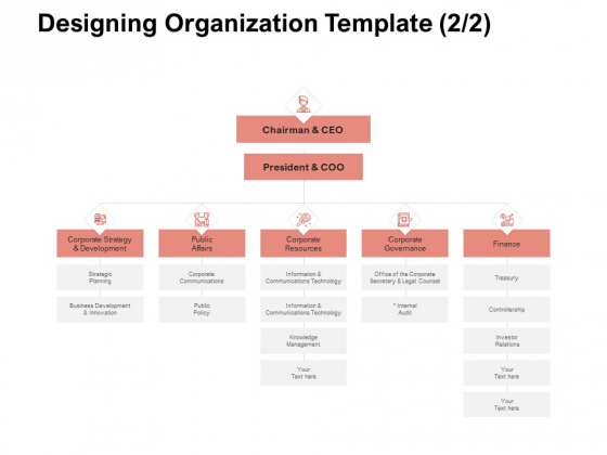 Team Manager Administration Designing Organization Template Finance Sample Pdf