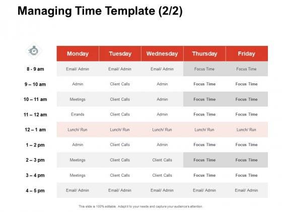 Team Manager Administration Managing Time Template Pictures Pdf