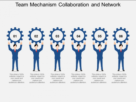 Team Mechanism Collaboration And Network Ppt Powerpoint Presentation Professional Visual Aids