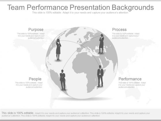 Team Performance Presentation Backgrounds