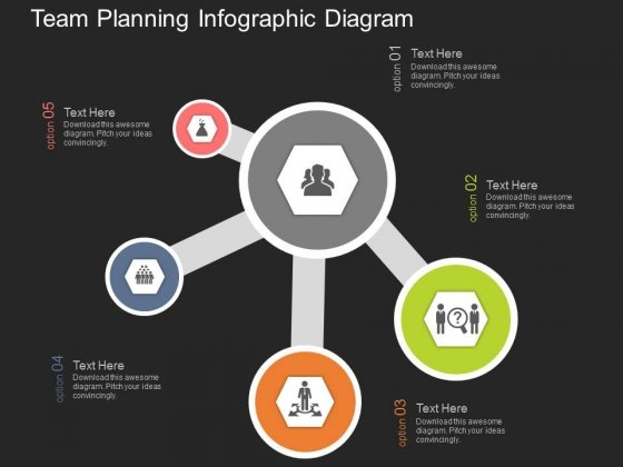 Team Planning Infographic Diagram Powerpoint Templates