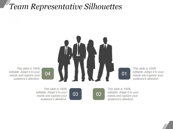 Team Representative Silhouettes Ppt PowerPoint Presentation Gallery
