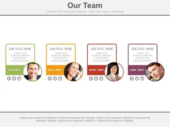 Team Represents The Spirit Of Company Powerpoint Slides
