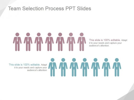Team Selection Process Ppt PowerPoint Presentation Design Templates