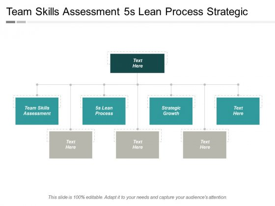 Team Skills Assessment 5S Lean Process Strategic Growth Ppt PowerPoint Presentation Ideas Graphics