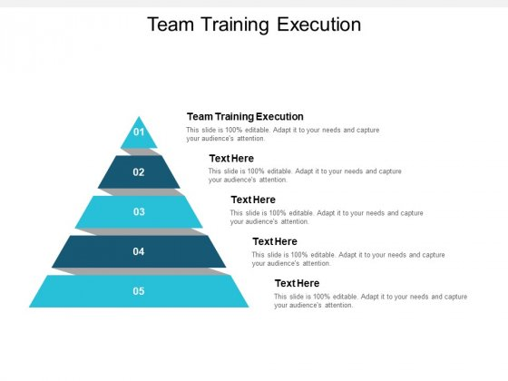 Team Training Execution Ppt PowerPoint Presentation Gallery Slide Portrait Cpb