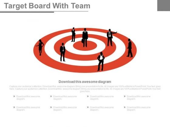 Team Vision For Sales Target Powerpoint Slides