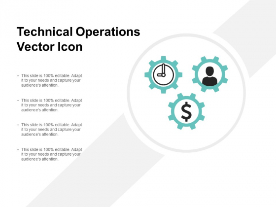 Technical Operations Vector Icon Ppt PowerPoint Presentation Show Tips