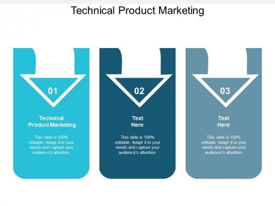 Technical Product Marketing Ppt PowerPoint Presentation Show Inspiration Cpb