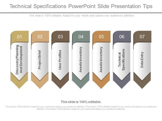 Technical Specifications Powerpoint Slide Presentation Tips