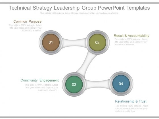 Technical Strategy Leadership Group Powerpoint Templates