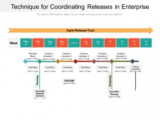 Technique For Coordinating Releases In Enterprise Ppt PowerPoint Presentation File Sample PDF
