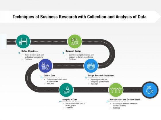 Techniques Of Business Research With Collection And Analysis Of Data Ppt PowerPoint Presentation Styles Templates PDF