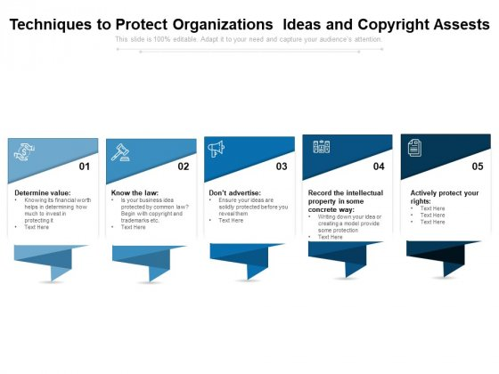 Techniques To Protect Organizations Ideas And Copyright Assests Ppt PowerPoint Presentation Gallery Background Images PDF