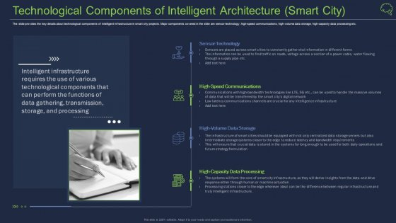 Technological Components Of Intelligent Architecture Smart City Guidelines PDF