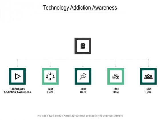 Technology Addiction Awareness Ppt PowerPoint Presentation Ideas Gallery Cpb Pdf