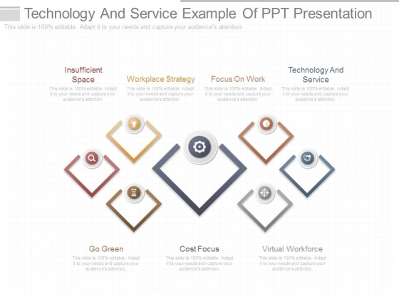Technology And Service Example Of Ppt Presentation