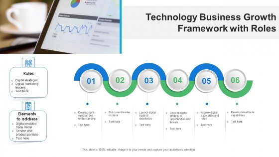 Technology Business Growth Framework With Roles Ppt PowerPoint Presentation File Graphic Images PDF