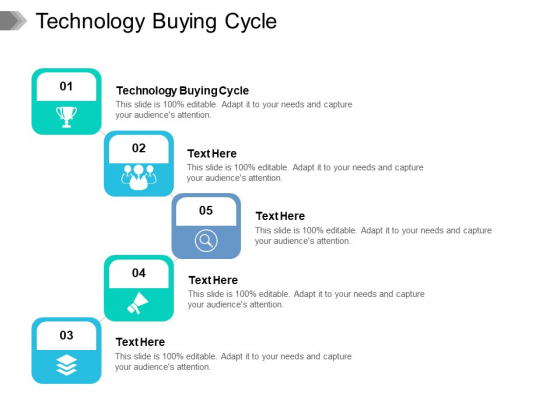 Technology Buying Cycle Ppt PowerPoint Presentation Infographic Template Shapes Cpb Pdf