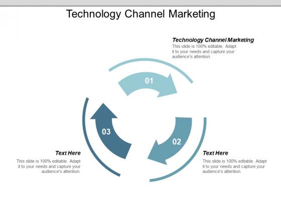Technology Channel Marketing Ppt PowerPoint Presentation Portfolio Influencers