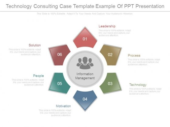 Technology Consulting Case Template Example Of Ppt Presentation
