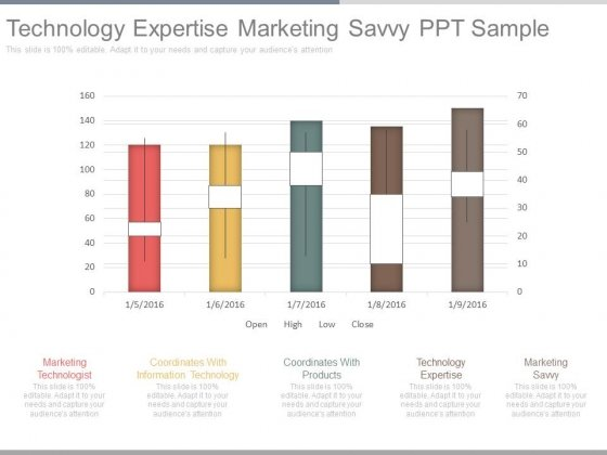 Technology Expertise Marketing Savvy Ppt Sample