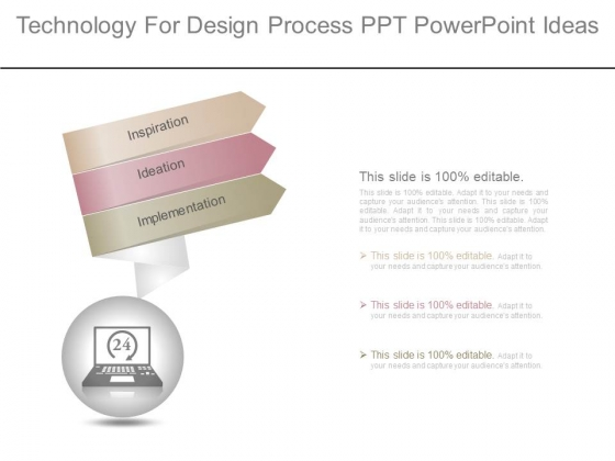 Technology For Design Process Ppt Powerpoint Ideas