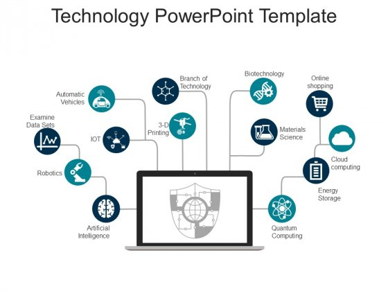 Technology Free Powerpoint Slide Powerpoint Templates